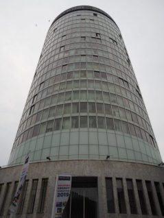 exterior shot of rotunda building