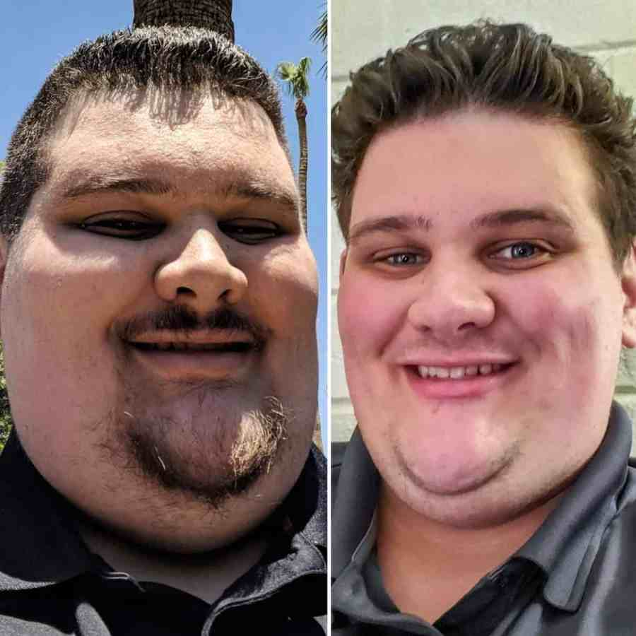 Brandin Lost Over 100 lbs Before and After