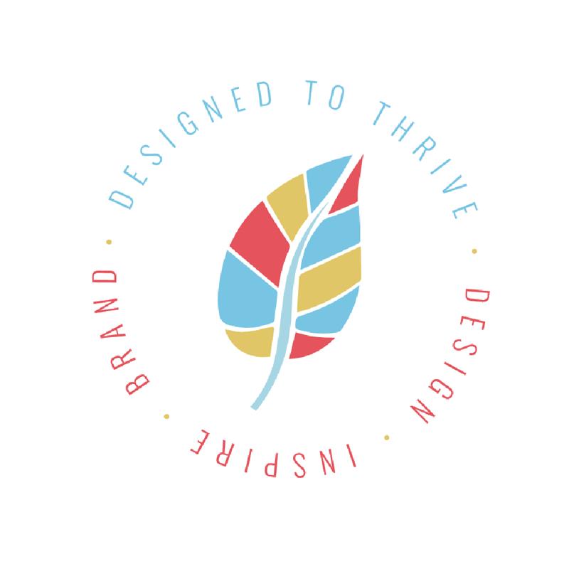 Heather Dauphiny Creative | Brand Identity Design - Designed to Thrive