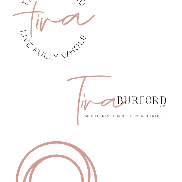 Tira Burford LCSW - Brand Identity - Heather Dauphiny Creative