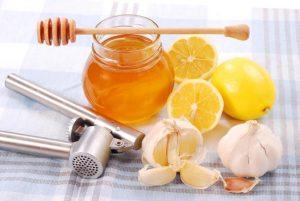 garlic, lemon and Honey for colds