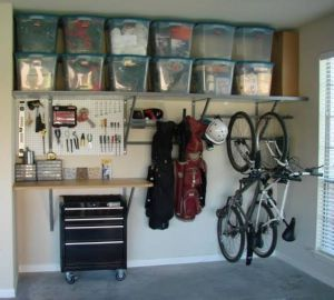 creating a clean space in your garage