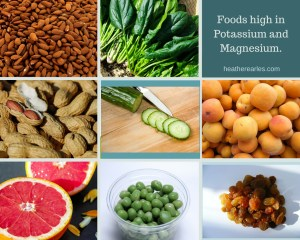 Foods high in Potassium and Magnesium