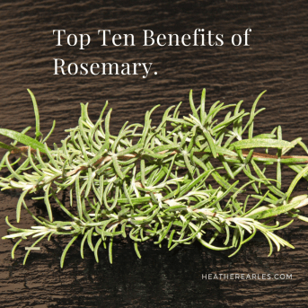 what are the benefits of rosemary?