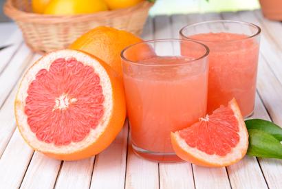 Drink pur grapefruit juice