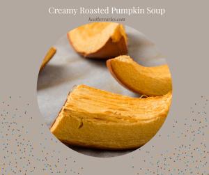 How to roast a pumpkin to make soup and or pie #heatherearles #herbnwisdom #naturalliving #holidayrecipes #pumpkinsoup