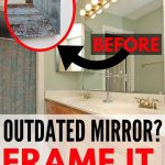 How To Make A Diy Mirror Frame The Heathered Nest