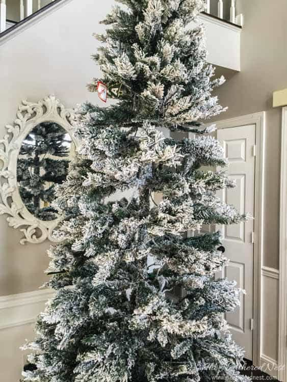 Using Branches Instead Of Christmas Tree For Interior Decor