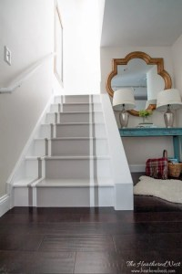 """""""Stop and Stare."""" A Painted Stairs Tutorial   The ..."""