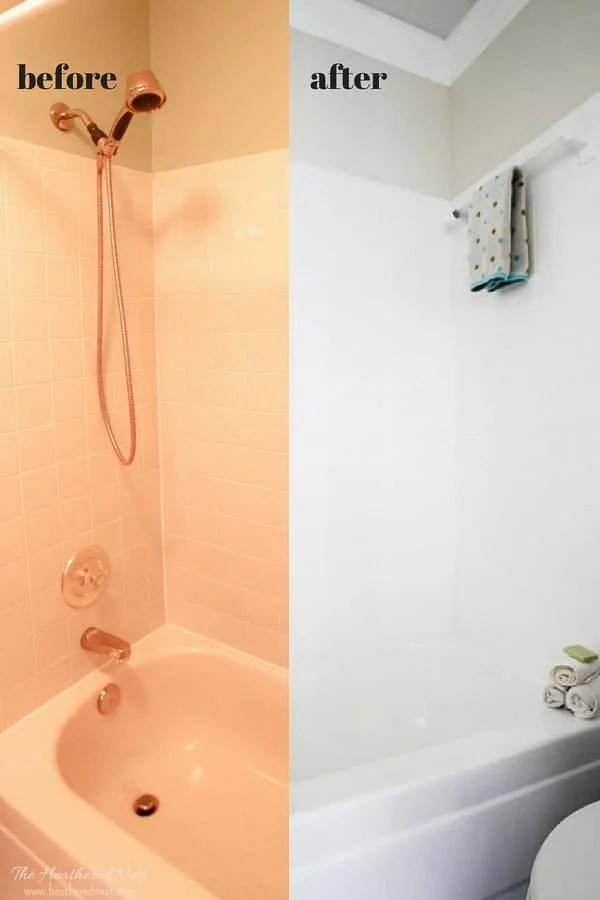 bathroom tile paint 3 years later the