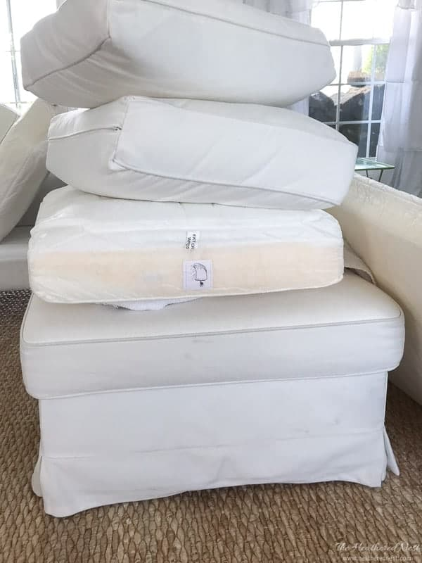 Living with a White Sofa  Kids How to Clean the Ikea