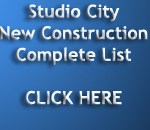 Studio City New Construction Homes Search