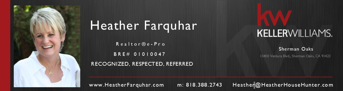 Heather Farquhar Realtor San Fernando Valley