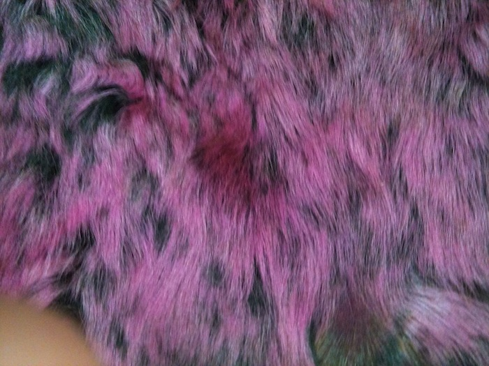 Pink fur for Gypsy Chic collection