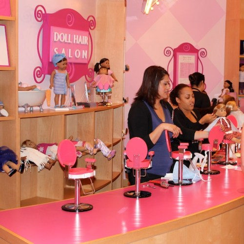 American Girl Place - The Hair Doll Salon