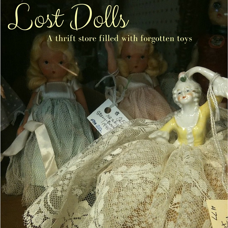 Lost Dolls: A Thrift Store Filled with Forgotten Toys