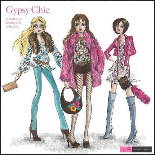 Gypsy Chic Doll Collection