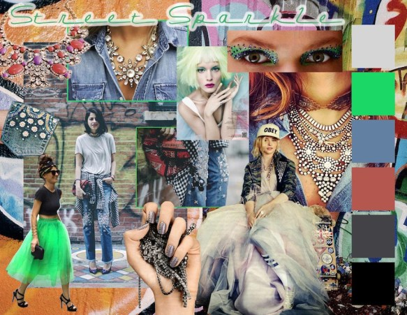 Street Sparkle Mood Board
