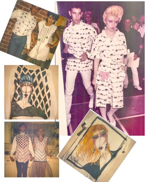Nina May Fashion Designs from the 1980's