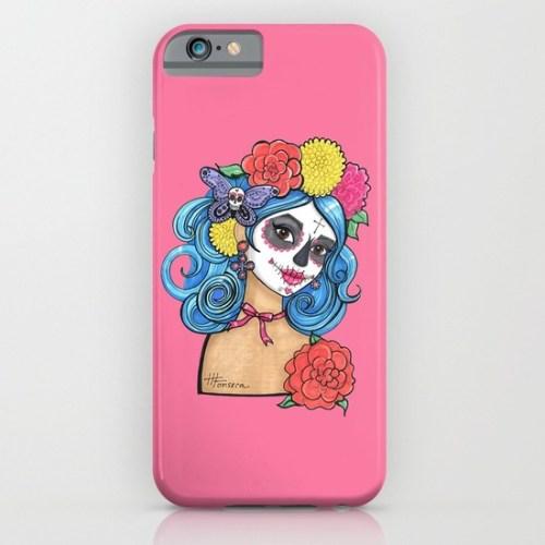 Sugar Skull Girl Phone Case