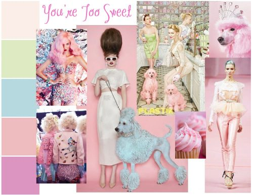 You're Too Sweet - A Fashion Doll Mood Board