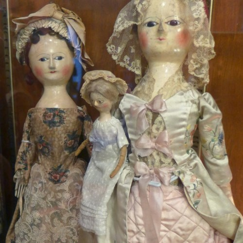 Antique Dolls on display at Angel's Attic Museum