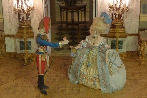 Marie Antoinette Doll on display at Angel's Attic Museum