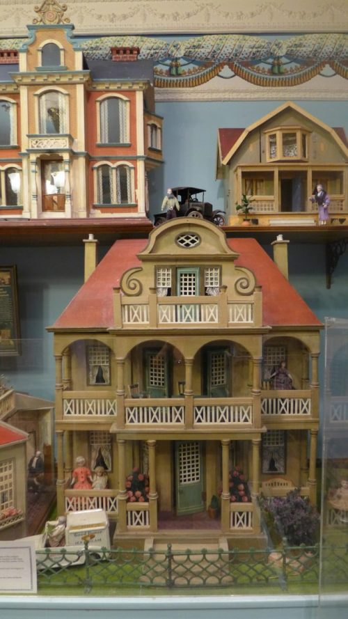 Doll house on display at Angel's Attic Museum