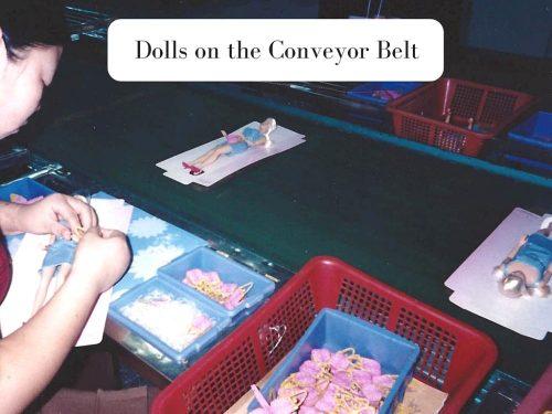 On the conveyor belt