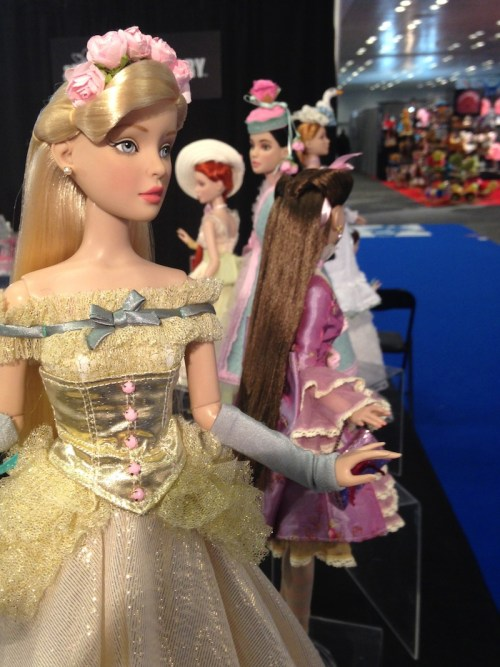 New York Toy Fair: Tonner Dolls on display