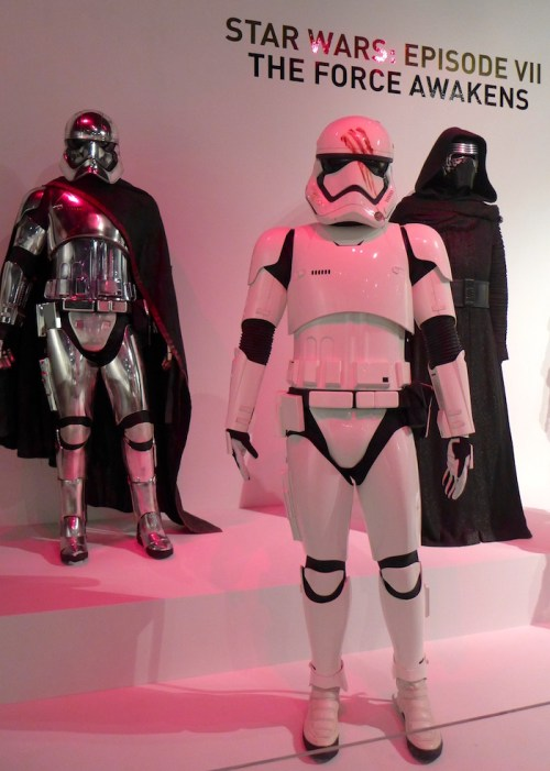 Star Wars: Costumes from the Movies of 2015 on display at FIDM