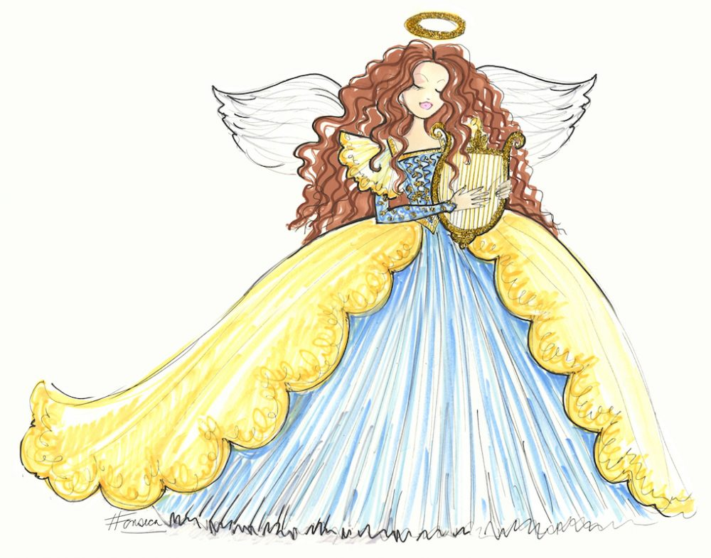 Angel Doll Design by Heather Fonseca