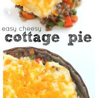 Easy Cheesy Cottage Pie