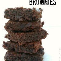 Paleo Fudge Brownies