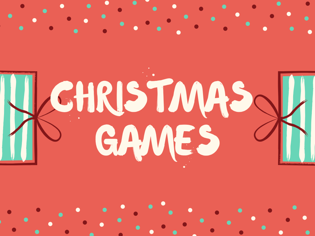 7 quick christmas games