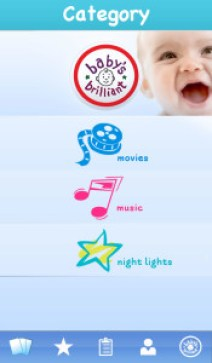 Baby's Brilliant App entertains and educates your babies and toddlers.