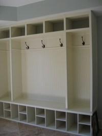 mudroom cabinet ideas | His Delight