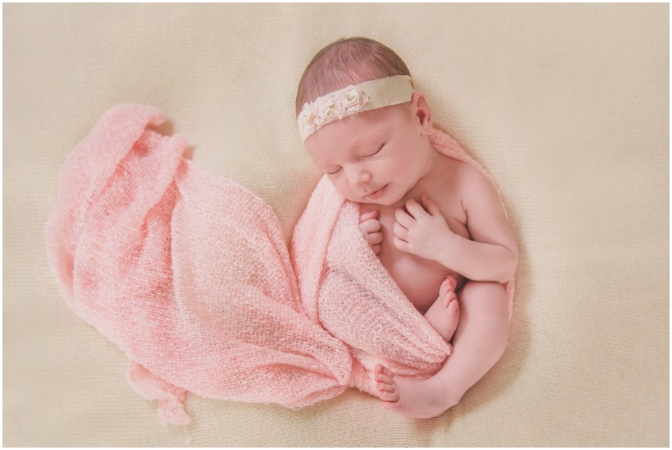 south jersey newborns, baby girl, neutral, lace, cream, pink,
