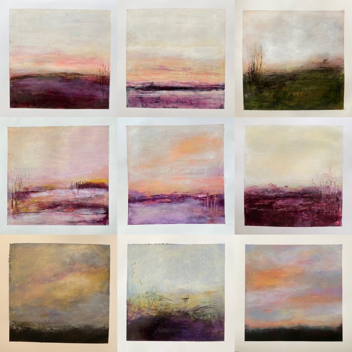 Abstract Landscape Montage