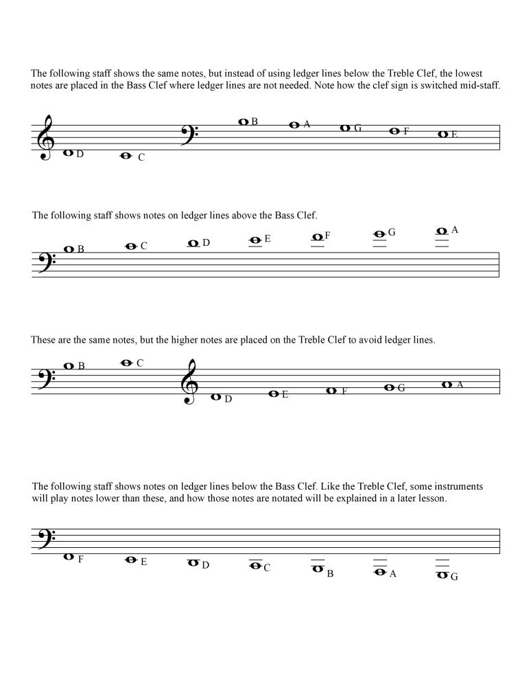 Lesson 5 Ledger Lines Page 2