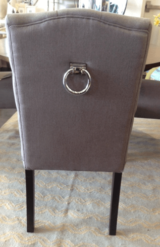 small scale upholstered dining chairs bucket chair covers for sale heather scott home & design · what's new wednesday: