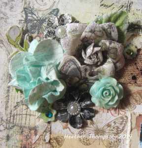 grow flower cluster closeup