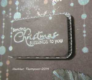 Christnas blessings close up