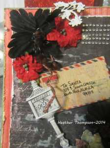 xmas mail close up 1