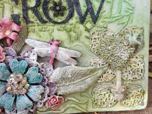 grow journal close up