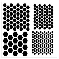 multi hexagon stencil-800x800