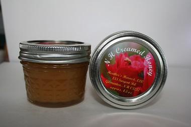 4 oz creamed honey