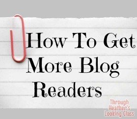 How to Get More Blog Readers