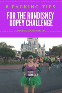 packing for rundisney Dopey Challenge