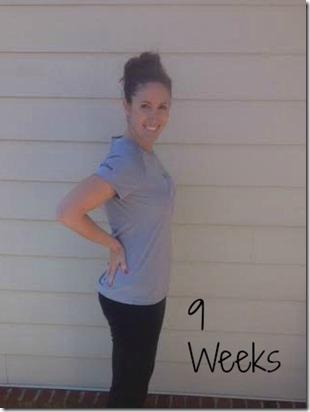 9weeks bump